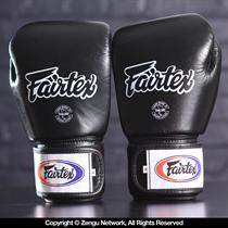Fairtex BGV1 Breathable Muay Thai Gloves - Black